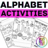 Alphabet Activity Book - Uu