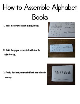 Alphabet Activity Booklets