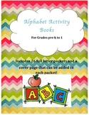 Alphabet Activity Books
