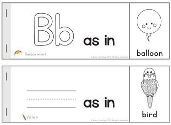 Alphabet Activity Books
