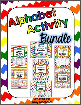 Alphabet Activity Bundle