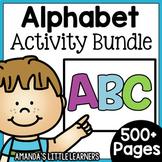 Alphabet Activity Bundle - Letters A-Z