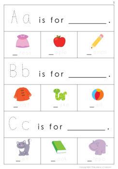 Alphabet Activity Cards