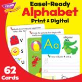 Alphabet Activity Cards Practice | Print & Digital