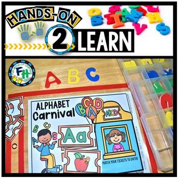 Alphabet Activity Center: ABC Carnival