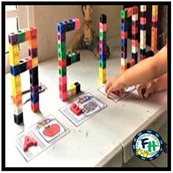 Alphabet Activity Center Build & Match