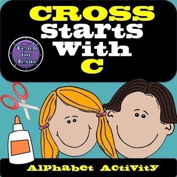 Alphabet Activity | Cross starts with C