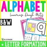 Alphabet Playdough Mats - Lowercase Letter Mats