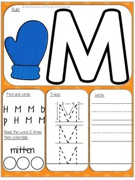 Alphabet Activity Dough Mats {Uppercase Letters}