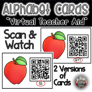 Letter Recognition: Handwriting Center with QR Codes