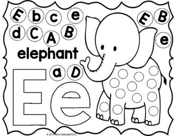 Alphabet Activity Letter Sheets