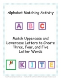 Alphabet Matching Activity - Matching Uppercase And Lowercase Letters