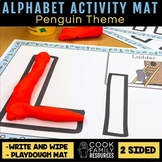 Penguin Theme - Alphabet Activity Mats (includes Playdough
