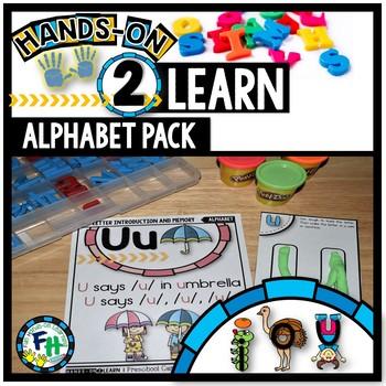 Alphabet Activity Pack {Letters I, O, & U)