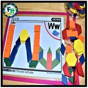Alphabet Activity Pack Letters V, W, & X