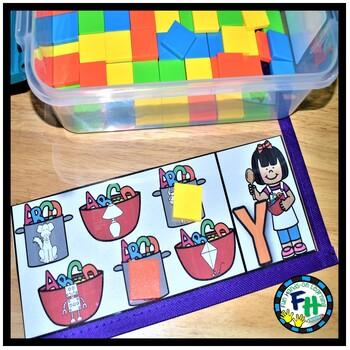 Alphabet Activity Pack Letters Y & Z