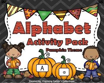 Alphabet Activity Pack: Pumpkin Theme