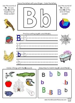 Alphabet Activity Pages