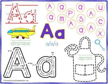 Alphabet Activity Place Mats