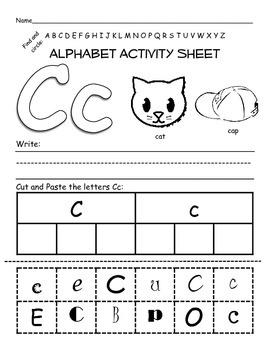 Alphabet Activity Set