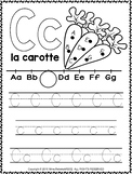 Alphabet Activity Sheets French Letter C