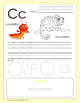 Alphabet Activity Worksheets A-Z, Learn Colors & Fine Motor Skills