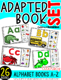 Alphabet Adapted Book Set {26 books included}