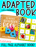 Alphabet Adapted Book {with real images}