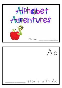 Alphabet Adevntures Book