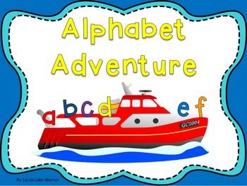 Alphabet Adventure! {Alphabet Literacy Station Activities}