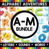 Alphabet Adventures - Bundle of Letters A to M