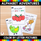 Alphabet Adventures - Color by Letter Bundle