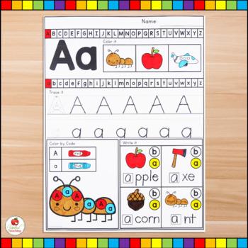 Alphabet Adventures - Letter A