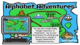 Alphabet Adventures Letter A-For Google Slides and Powerpoint