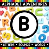 Alphabet Adventures - Letter B