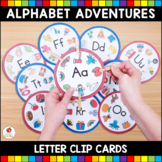 Alphabet Adventures - Letter Clip Cards Bundle