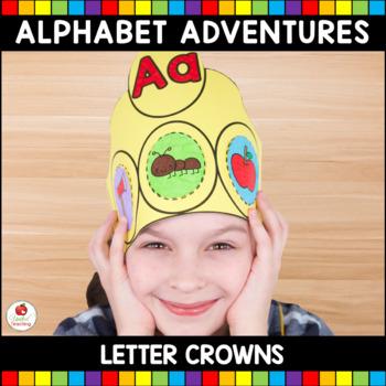 Alphabet Adventures - Letter Crowns Bundle