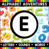 Alphabet Adventures - Letter E