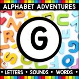 Alphabet Adventures - Letter G