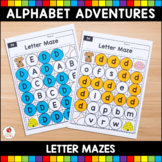 Alphabet Adventures - Letter Mazes Bundle