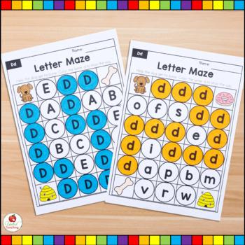 Alphabet Adventures - Letter Mazes Bundle