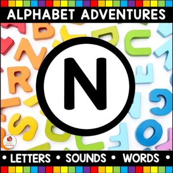 Alphabet Adventures - Letter N