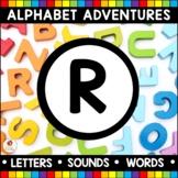 Alphabet Adventures - Letter R