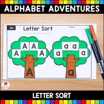 Alphabet Adventures - Letter Sorts Bundle
