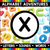 Alphabet Adventures - Letter X