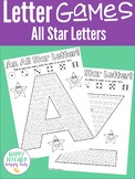 Alphabet All Star Printable Games - Letter of the Week, In