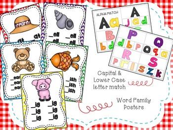 Alphabet All The Way: Phonological Awareness Activities and Classroom Decor
