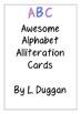 Alphabet Alliteration Cards