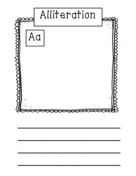 Alphabet Alliteration Class Book