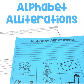Alphabet Alliterations